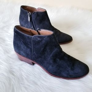 Sam Edelman Shoes - Sam Edelman Petty Ankle Bootie Black Suede 8.5